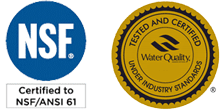 NSF61 WQA Gold Seal